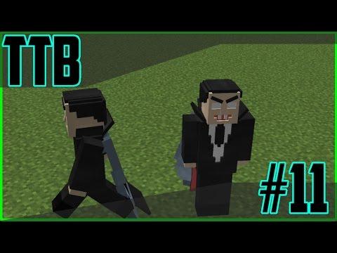 TTB#11 - Vampires and Custom Mobs | Minecraft Custom Command Pack