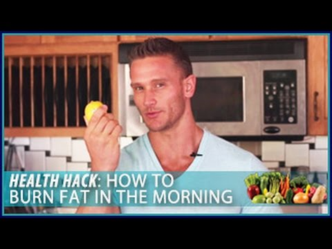 How to Burn Fat in the Morning: Health Hack- Thomas DeLauer