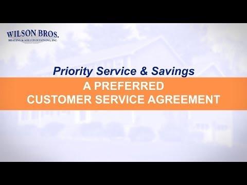 Priority Service & Savings: A Preferred Customer Service Agreement