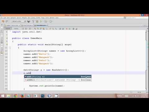 14.12 How to print duplicate Elements in ArrayList in Java Tutorial