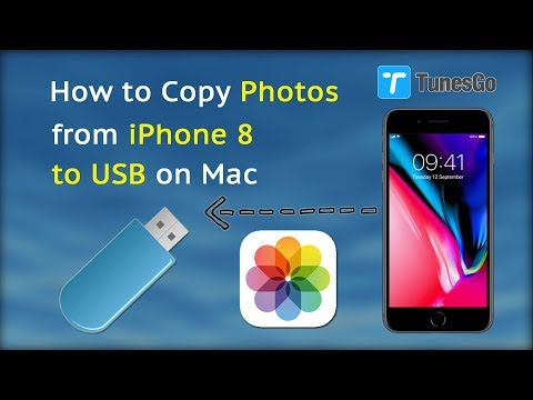 How to Copy Photos from iPhone 8 to USB on Mac