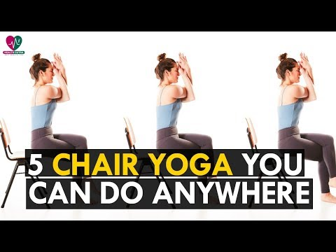 5 Easy Chair Yoga Poses You Can Do Anywhere