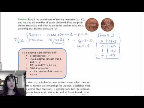 4.4 Binomial Random Variables Definition and example
