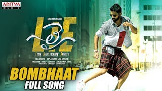 Bombhaat Full Song | Lie Songs | Nithiin , Megha Akash | Mani Sharma
