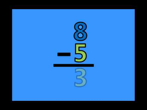 Math Subtraction Facts - Subtracting by 5's