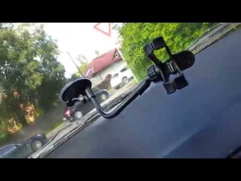 REVIEW - Universal 360°Rotating Car Windshield Mount Holder Stand Bracket