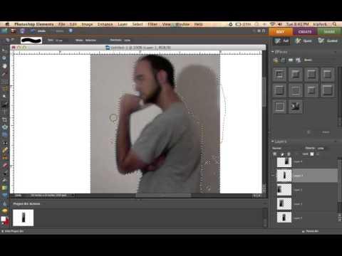 Many Me: Self Portrait Silhouette Demo