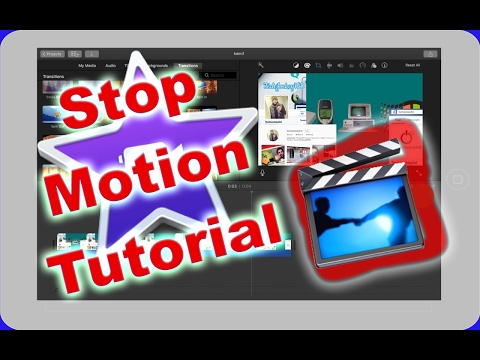 How to do stop motion video in iMovie on iPad/iPhone