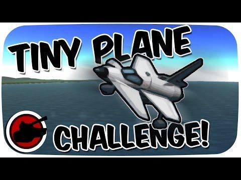 TINY PLANE CHALLENGE - KSP Challenge! (Kerbal Space Program Gameplay)