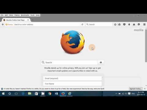 How to remove the ASK toolbar from your computer and reset your start page on Firefox Chrome or Inte