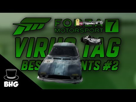 Forza Motorsport 7 Virus Tag | Best (and Weird) Moments #2