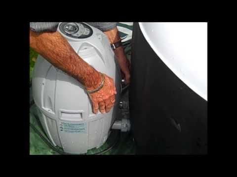 draining the hot tub video 1