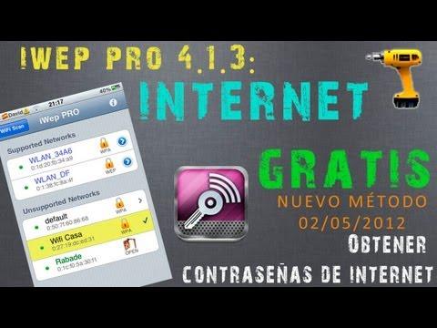 iWep PRO 4.1.3: Hackea Redes de Internet [WiFi] con tu iPhone/iPod/iPad | Hack WiFi Networks