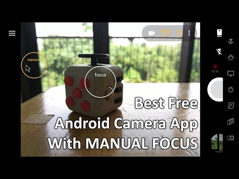 Best FREE Android Camera App With Manual Focus