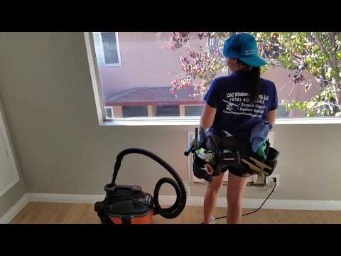 3 steps of window track cleaning Hillary's example