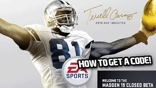 How To Get A Madden 19 Beta Code