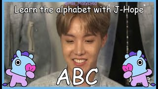 Download LEARN THE ALPHABET WITH BTS' J-HOPE Video