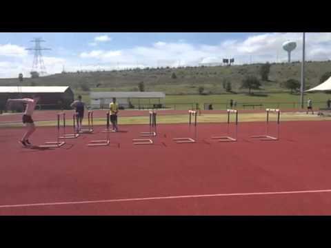 High Jump Plyometrics Hurdles Drill