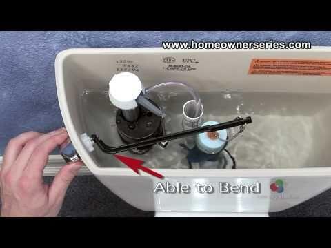 How to Fix a Toilet - Parts - Flush Handle