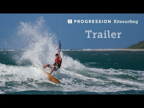 Learn to Ride Waves with a Kite - Progression Kitesurfing Instructional Video Series Trailer