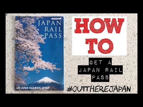 HOW TO GET A JAPAN RAIL PASS