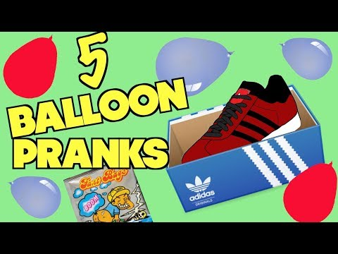 5 Balloon PRANKS You Can Do On Family and Friends At Home - HOW TO PRANK (Pranks At Your Own Risk)