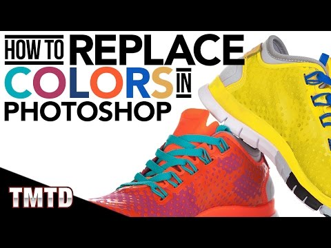 Photoshop Tutorials: How to Replace Colors in Photoshop
