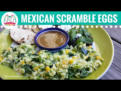 Mexican BREAKFAST | Mexican Food - Spicy Latina Mom