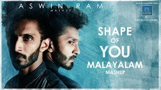 Ed Sheeran Shape Of You Malayalam Mashup Aswin Ram (15 Songs In One Go)
