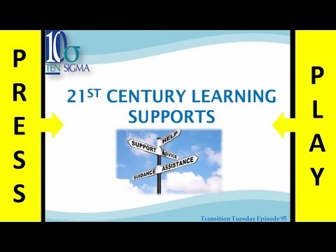 21st century learning supports in Episode 95 - Part 2 of 3