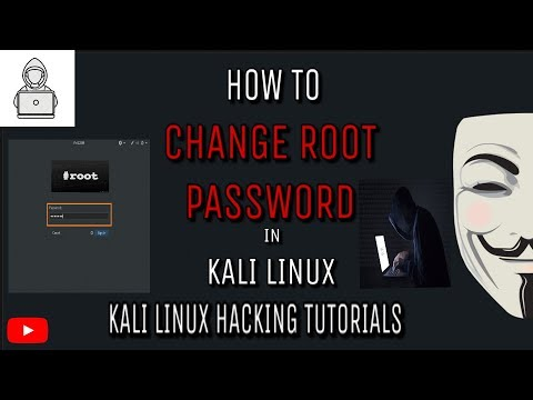 How to Change Root/User Password of Kali Linux