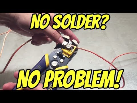 The Correct Way to T-Splice an Automotive Wire Without Solder
