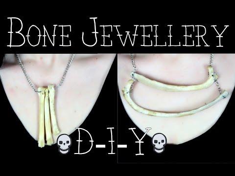 Bone Jewellery DIY || Step-by-Step | Creepy Creations