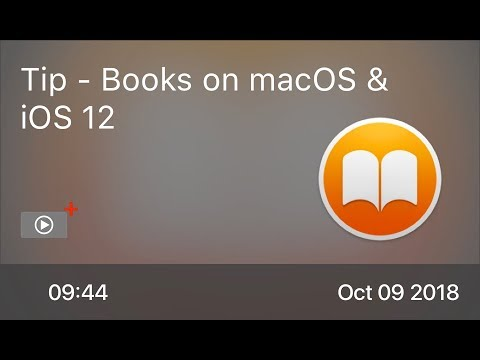 SCOM0776 - Tip - Books on macOS & iOS 12
