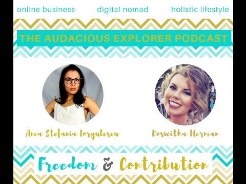Ep. 1 Business Success Mindset with Roswitha Herman | The Audacious Explorer | Travel & Coach