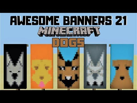✔ 5 AWESOME MINECRAFT BANNER DESIGNS WITH TUTORIAL! #21