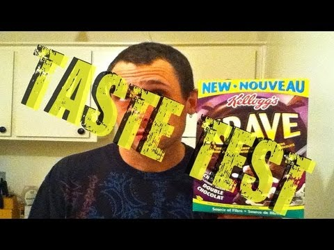 KRAVE CEREAL TASTE TEST