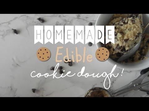 How to Make   Edible Cookie Dough! 🍪🍪