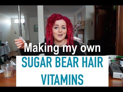 How to Make Your Own SUGAR BEAR HAIR VITAMINS!