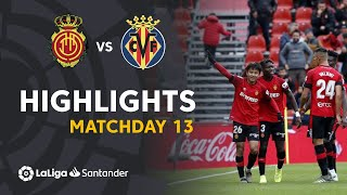 Highlights RCD Mallorca vs Villarreal CF (3-1)