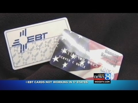 EBT Card system working again