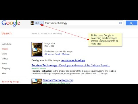 How to use Google Image Search to find information about a picture