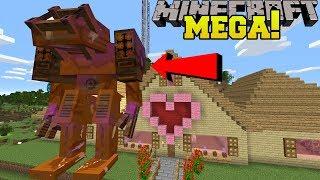 Minecraft: MEGA CHOCOLATE GOLEM!!! (WORLD