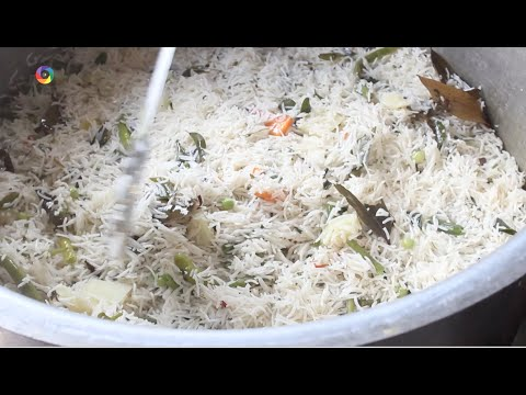 How To Make Vegetable Biryani Traditional Indian Food