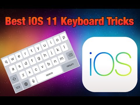 Best Keyboard Tricks on iOS 9,10 & 11