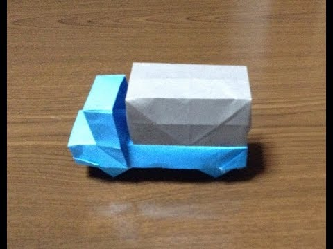 How to Make a origami truck/car
