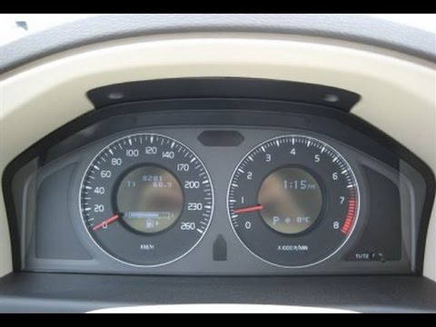 How to remove 2008 Volvo S80 instrument cluster