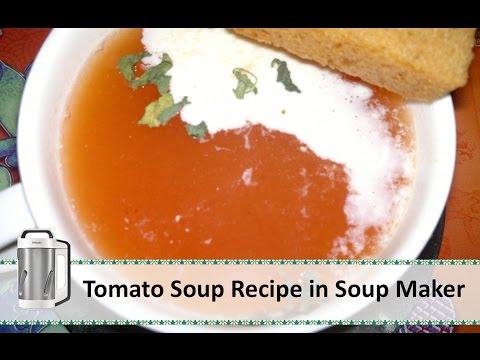 Tomato Soup Recipe | Soup Maker Recipe by Healthy Kadai