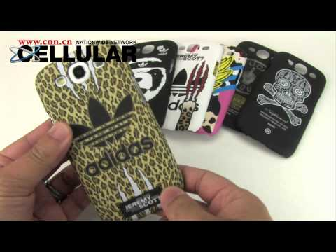 Samsung Galaxy S III branded patterned hardcover snap cases round up