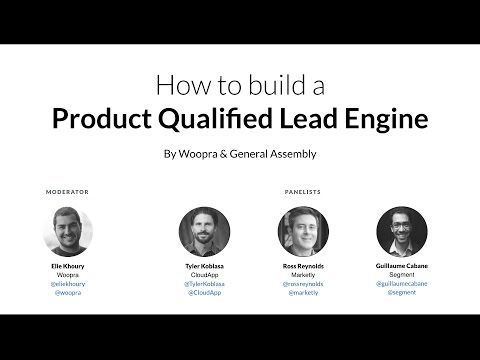 How to Build a Product Qualified Lead Engine